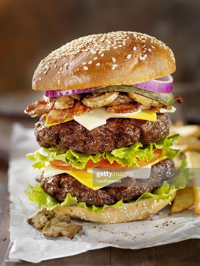 Really Big Burger : Stock Photo
