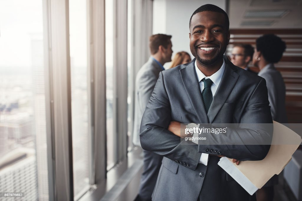I really stood my ground in that meeting : Stock Photo