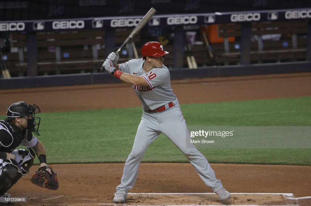 Philadelphia Phillies v Miami Marlins - Game One : ニュース写真