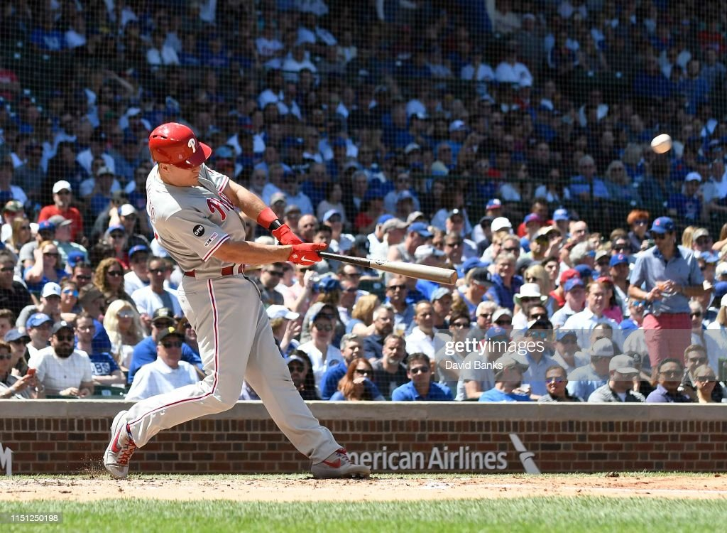 Philadelphia Phillies v Chicago Cubs : News Photo