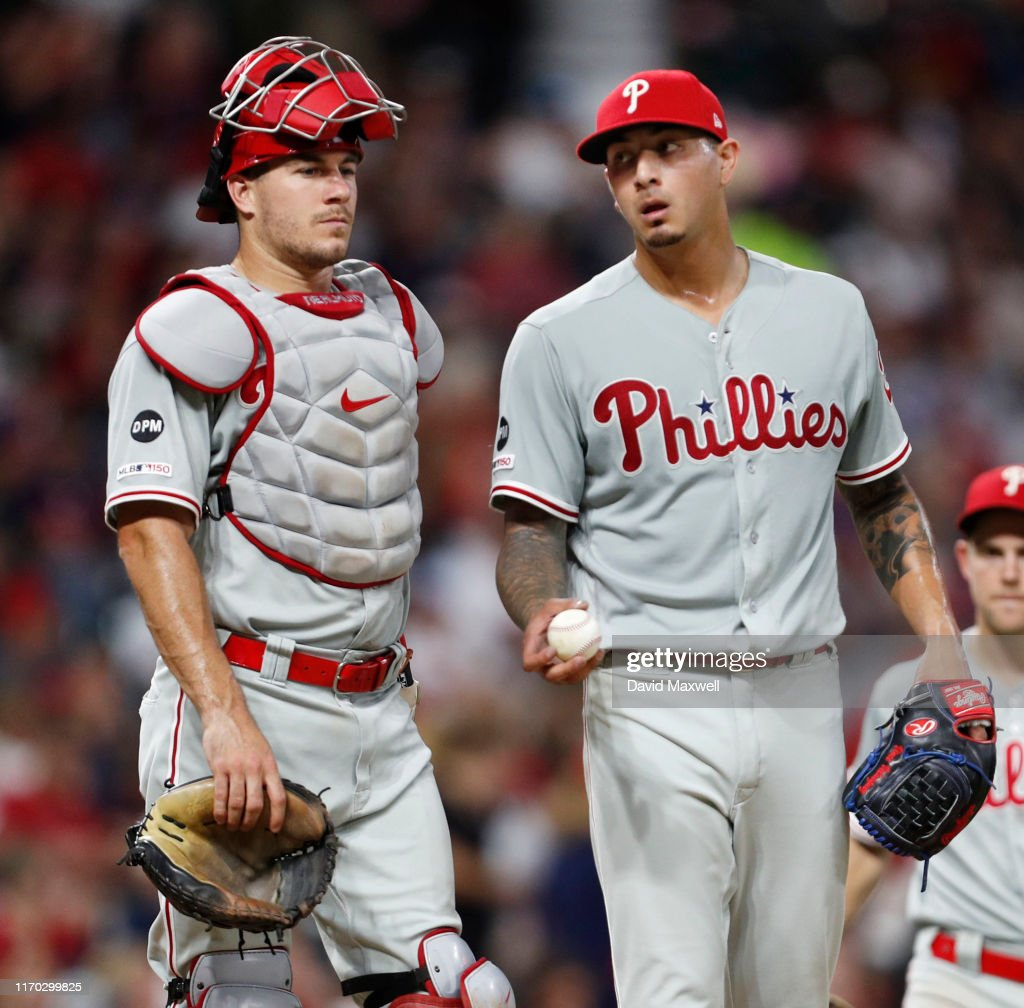 Philadelphia Phillies v Cleveland Indians : News Photo