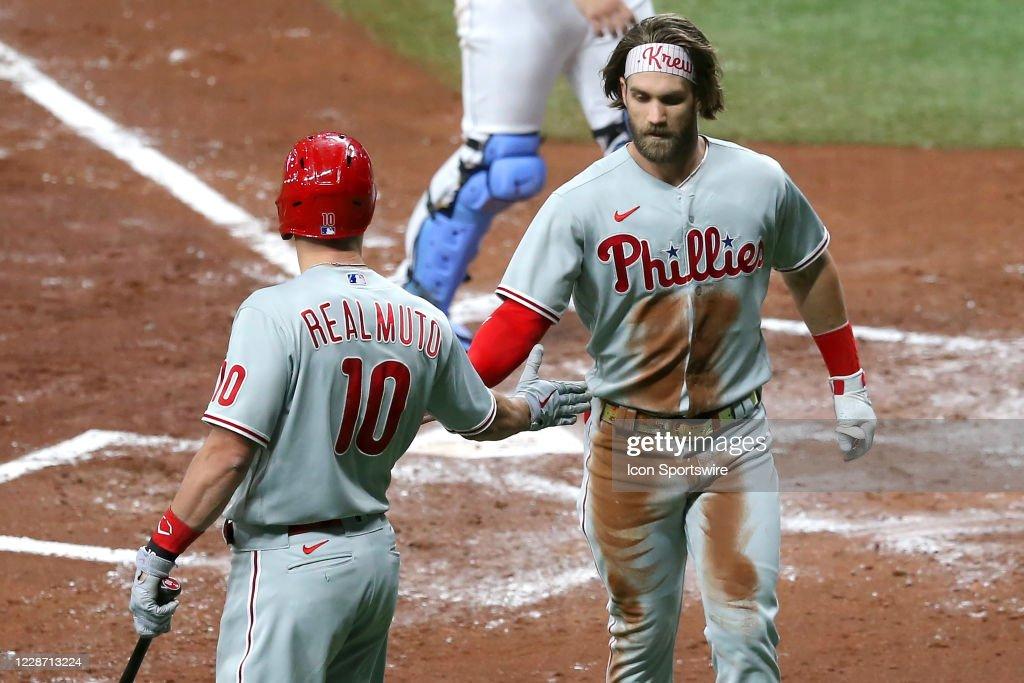 MLB: SEP 25 Phillies at Rays : News Photo