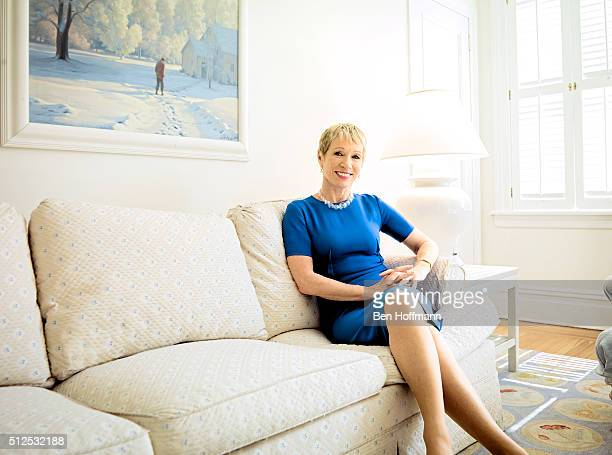 Realtor Barbara Corcoran is photographed for Fortune Magazine on April 25 2013 in New York City PUBLISHED IMAGE