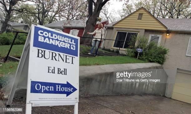 Realtor Ed Bell held an open house at 1866 Chelton in St. Paul, on 4/7/12.] Bruce Bisping/Star Tribune bbisping@startribune.com Ed Bell/source.