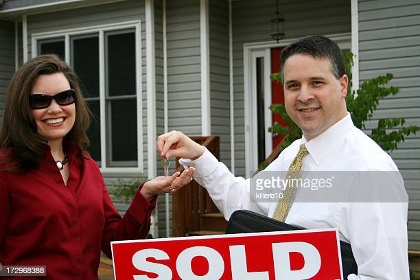 Realtor with Client