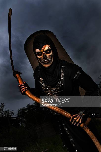 reaper - grim reaper stock pictures, royalty-free photos & images