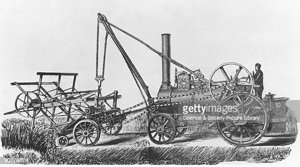 Reaper powered by a traction engine Traction engines are mobile steampowered road vehicles which can be used for haulage agricultural purposes or as...