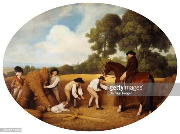 Reapers, 1795. Artist George Stubbs. .