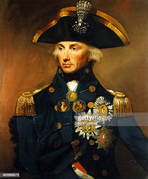 Rear Admiral Sir Horatio Nelson 17981799 Probably the most famous portrait of Nelson painted after his victory at the Battle of the Nile from an...