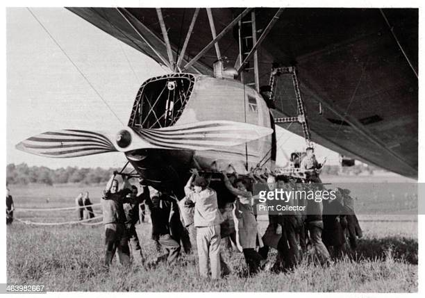 Rear gondola Zeppelin LZ 127 'Graf Zeppelin' 1933 The 'Graf Zeppelin' was the most successful airship ever built Between its first flight in 1928 and...