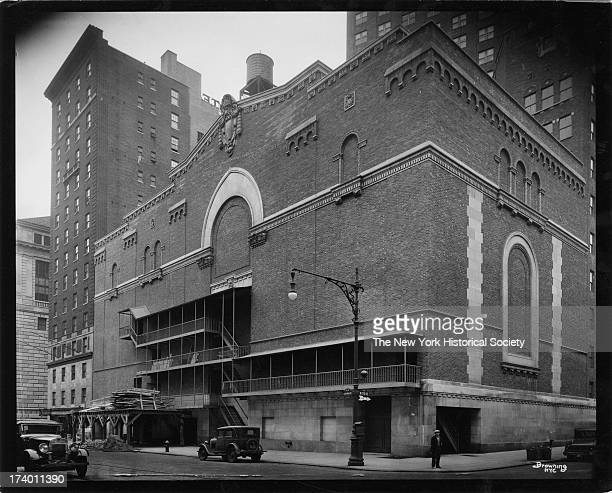 Rear of Beacon Theatre Amsterdam Avenue between 74th and 75th Streets New York New York 1920s