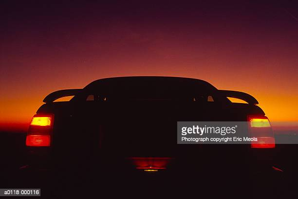 Rear of Car at Night