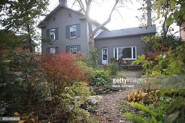 TORONTO ON October 31 Rear of home looking at the house from the garden Andrea Mathieson is the owner of The Rupert House A piece of Torontoarea...