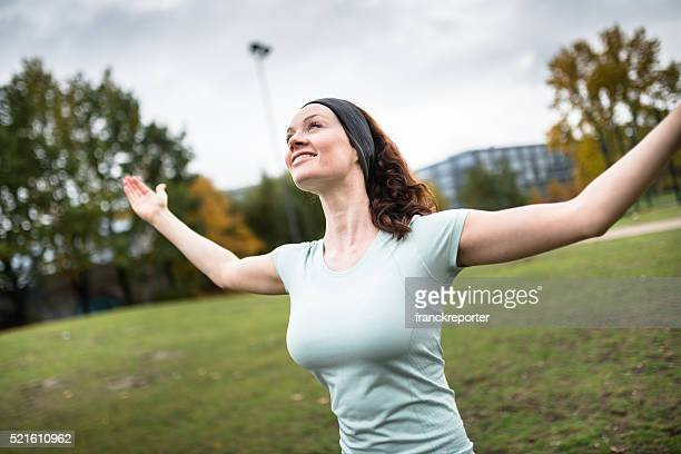 rear view fitness woman showing the muscle - booby stock pictures, royalty-free photos & images