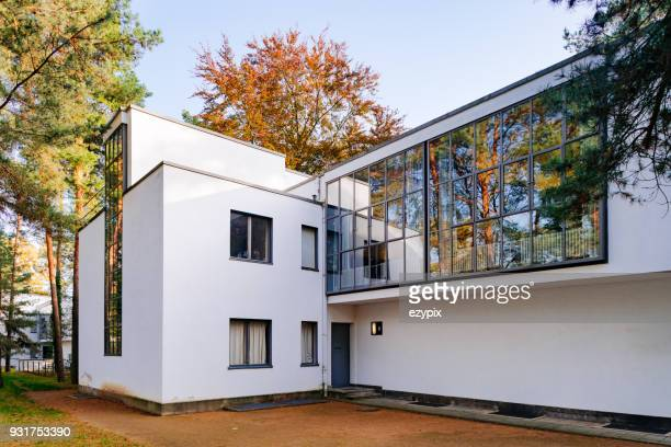 Rear view Master House from Kandisnky / Klee Master - Bauhaus Dessau