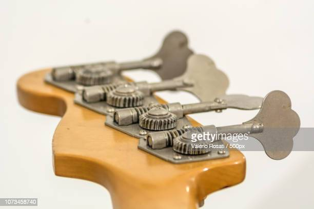 rear view of a electric bass head - modern rock stock pictures, royalty-free photos & images