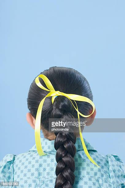 Rear view of a girl
