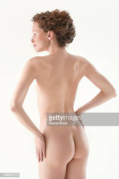 Rear view of a naked woman