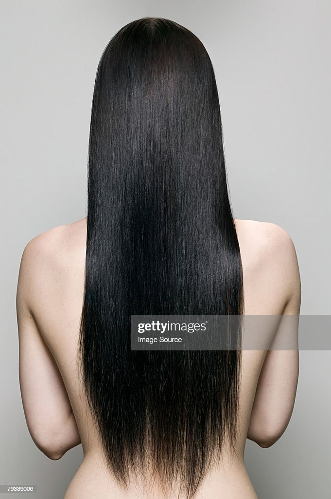 Rear view of a woman : Stock Photo