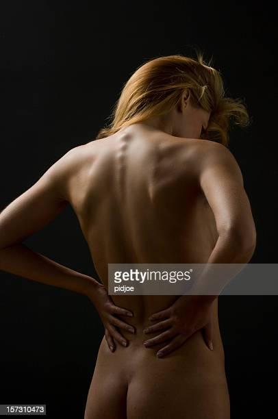 Rückansicht des Nackte Frau