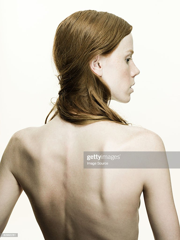 Rear View Of Young Woman High-Res Stock Photo - Getty Images
