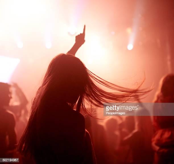 Concert avec les fans
