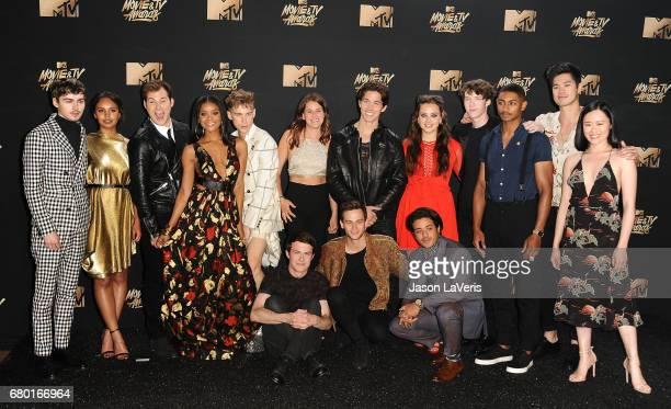 '13 Reasons Why' Actors Miles Hezer Alisha Boe Justin Prentice Ajiona ALexus Tommy Dorfman Katherine Langford Devin Druid Steven Silver Ross Butler...