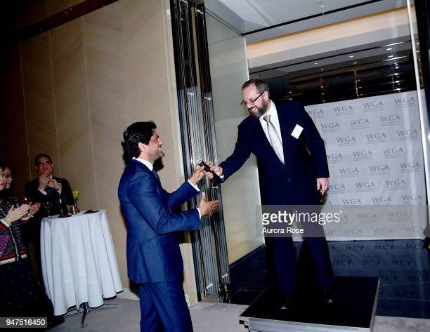 Reaz Jafri and Ivan Sacks attend Launch Of New Entity Withers Global Advisors at 432 Park Avenue on April 3 2018 in New York City Reaz JafriIvan Sacks