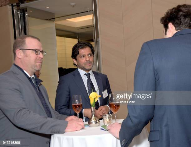 Reaz Jafri attends Launch Of New Entity Withers Global Advisors at 432 Park Avenue on April 3 2018 in New York City Reaz Jafri