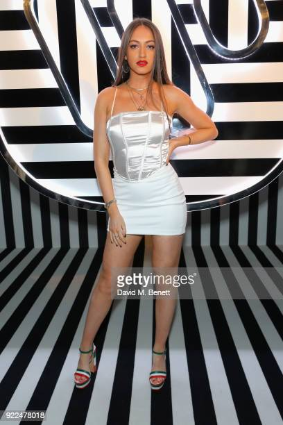 Reba Maybury attends the Brits Awards 2018 After Party hosted by Warner Music Group Ciroc and British GQ at Freemasons Hall on February 21 2018 in...