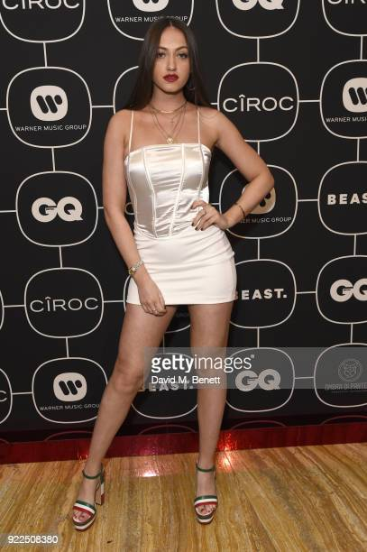 Reba Maybury attends the Warner Music CIROC BRIT Awards 2018 afterparty at Freemasons Hall on February 21 2018 in London England