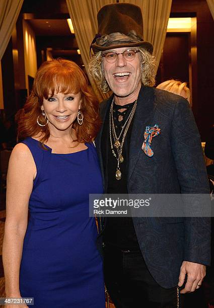 Reba McEntire and Big Kenny of Big Rich attend the 15th Annual Nashville Best Cellars Dinner hosted by the TJ Martell Foundation at the Omni Hotel...