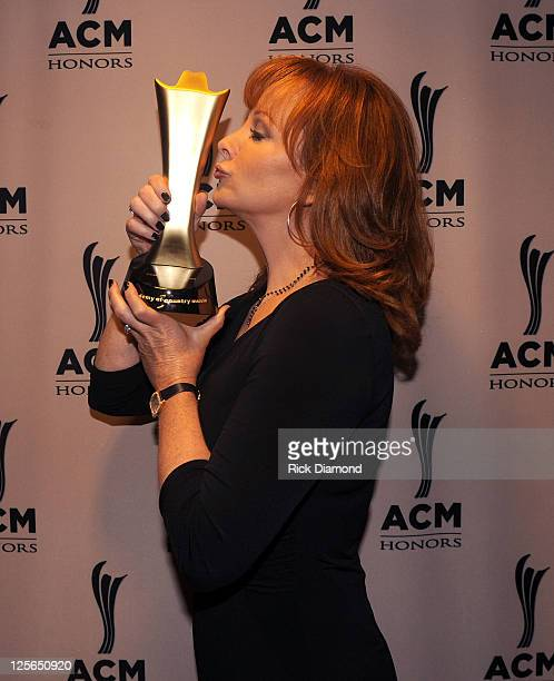 Reba McEntire attends 5th Annual ACM Honors at Ryman Auditorium on September 19 2011 in Nashville Tennessee