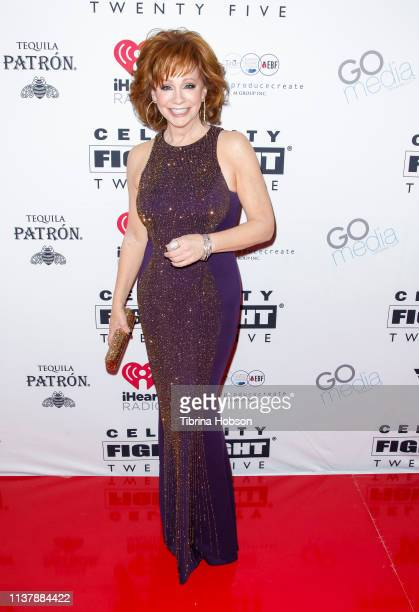 Reba McEntire attends Celebrity Fight Night XXV at JW Marriott Phoenix Desert Ridge Resort Spa on March 23 2019 in Phoenix Arizona