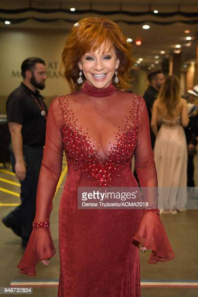 Reba McEntire attends the 53rd Academy of Country Music Awards at MGM Grand Garden Arena on April 15 2018 in Las Vegas Nevada