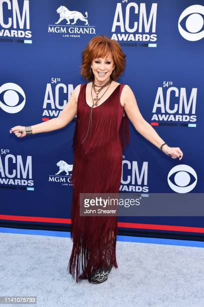 Reba McEntire attends the 54th Academy Of Country Music Awards at MGM Grand Hotel Casino on April 07 2019 in Las Vegas Nevada