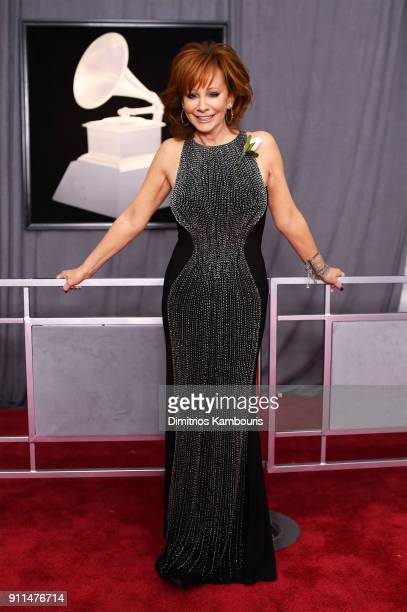 Reba McEntire attends the 60th Annual GRAMMY Awards at Madison Square Garden on January 28 2018 in New York City