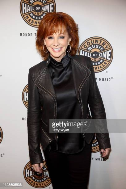 Reba McEntire attends the Country Music Hall of Fame and Museum's new exhibition American Currents The Music of 2018 on March 5 2019 in Nashville...