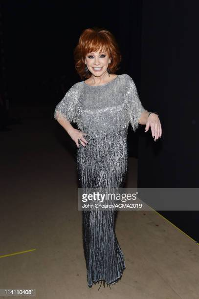 Reba McEntire backstage attends the 54th Academy Of Country Music Awards at MGM Grand Garden Arena on April 07 2019 in Las Vegas Nevada