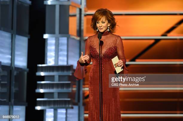 Reba McEntire hosts the 53RD ACADEMY OF COUNTRY MUSIC AWARDS live from the MGM Grand Garden Arena in Las Vegas Sunday April 15 2018 at 800 PM ET/PT...