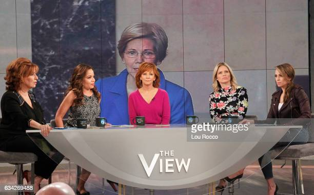 THE VIEW Reba McEntire is the guest cohost today Wednesday February 8 2017 on Walt Disney Television via Getty Images's The View with guest Tracee...