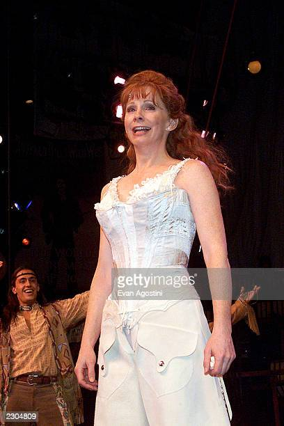 Reba McEntire takes over lead role in 'Annie Get Your Gun' on Broadway at the Marquis Theatre in New York City Photo Evan Agostini / ImageDirect