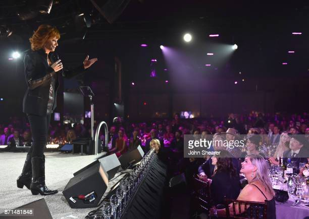 Reba performs onstage during the 65th Annual BMI Country Awards at BMI on November 7 2017 in Nashville Tennessee