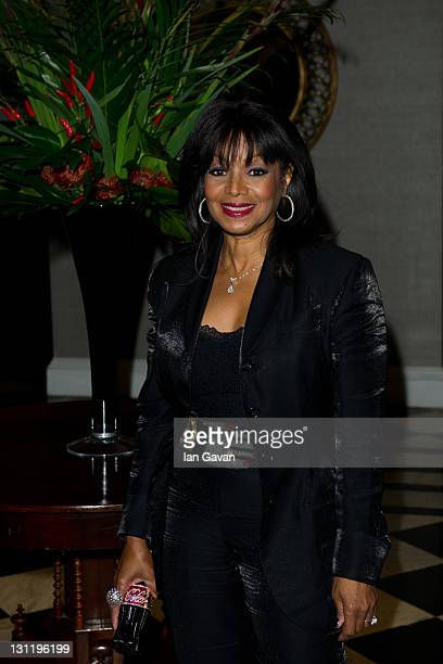 Rebbie Jackson arrives at the afterparty of 'Michael Jackson: The Life Of An Icon' at the Connaught Rooms on November 2, 2011 in London, England.