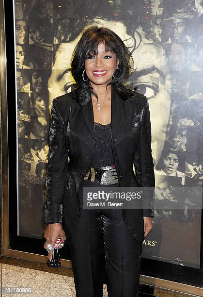 """Rebbie Jackson arrives at the World Premiere of """"Michael Jackson: The Life Of An Icon"""" at Empire Leicester Square on November 2, 2011 in London,..."""
