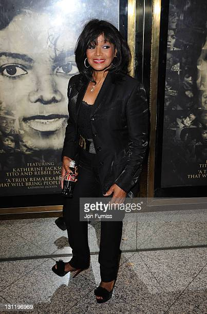 Rebbie Jackson attends The World Premiere of Michael Jackson: The Life Of An Icon at The Empire Cinema on November 2, 2011 in London, England.