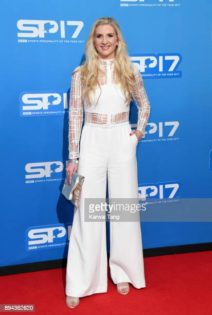 Rebecca Adlington attends the BBC Sports Personality of the Year 2017 Awards at the Echo Arena on December 17 2017 in Liverpool England
