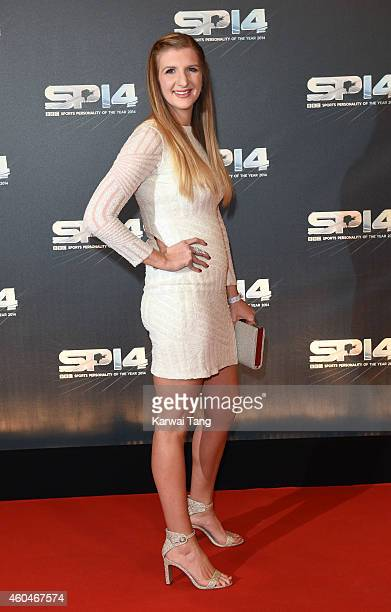 Rebecca Adlington attends the BBC Sports Personality of the Year awards at The Hydro on December 14 2014 in Glasgow Scotland