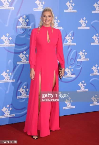 Rebecca Adlington attends the National Lottery Awards 2018 held at BBC Television Centre on September 21, 2018 in London, England.