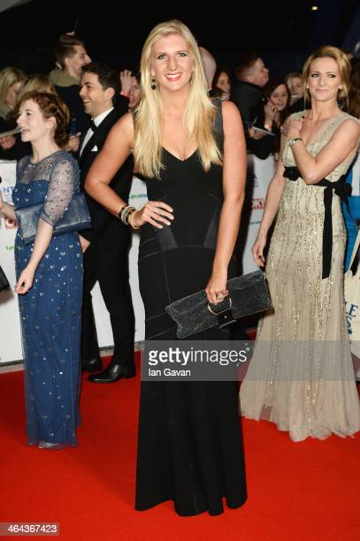 Rebecca Adlington attends the National Television Awards at 02 Arena on January 22 2014 in London England